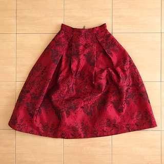Love Bonito Midi Skirt