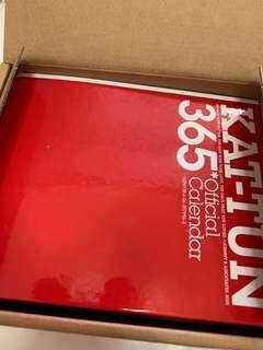 KAT-TUN 2010.4-2011.3 calendar
