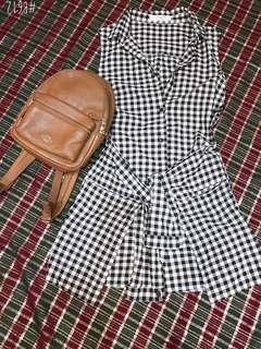 🚚 正韓製 💋假兩件 造型上衣 洋裝🌸
