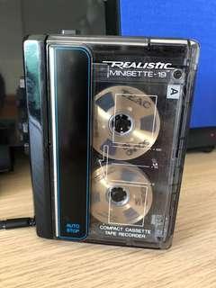 極罕有透明Walkman Realistic minisette 19