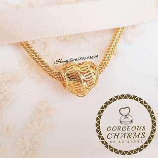 916 Gold Charm
