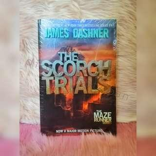 The Scorch Trials (The Maze Runner Book 2) BNEW SEALED