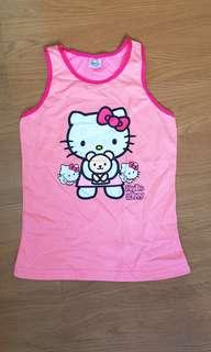 Hello kitty sleeveless