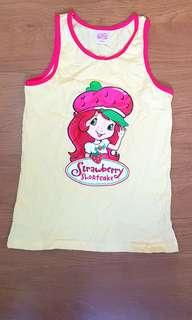 Strawberry shortcake sleeveless