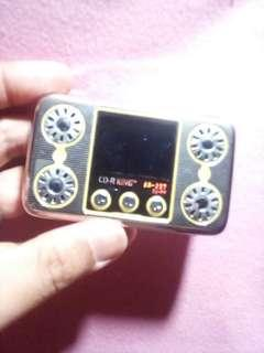 Free Shipping!! Defective Cdr -king mp3 player
