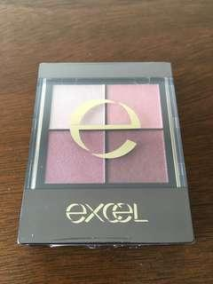 Excel  眼影 eyeshadow 四色眼影
