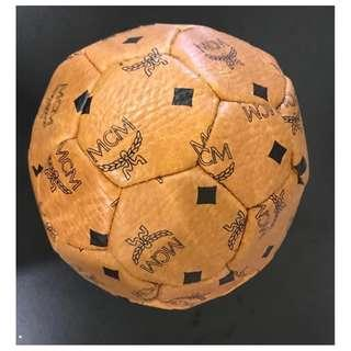 Authentic MCM Size 3 Football Soccer Ball Leather