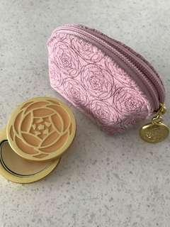 🚚 Crabtree &Evelyn solid perfume(Evelyn rose) with bag