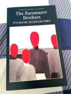 NEGOTIABLE!! The Karamazov Brothers by Fyodor Dostoevsky