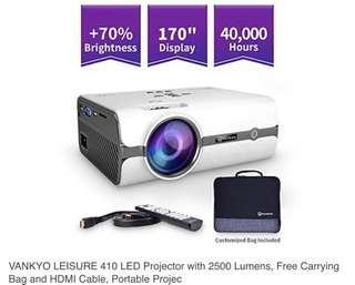 Leisure 410 Vankyo Projector