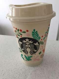 🚚 Starbucks plastic tumbler
