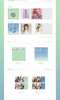 IZONE 2nd Mini Album HEART IZ