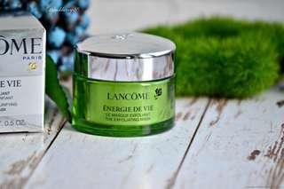 Lancôme Énergie De Vie The Illuminating & Purifying Exfoliating Mask 15ml