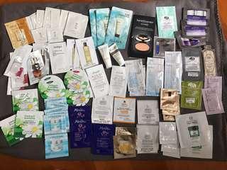 消貨 包郵 護膚品sample 20件