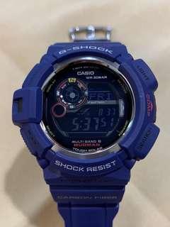 中古 二手 G-Shock Mudman GW-9300NV-2JF GW9300NV Men in Navy 泥人 防泥 防塵 運動錶