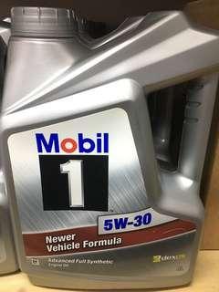Mobil 4L 5W30 偈油