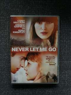 Never let me go DVD by star of Amazing Spider-Man 蜘蛛俠