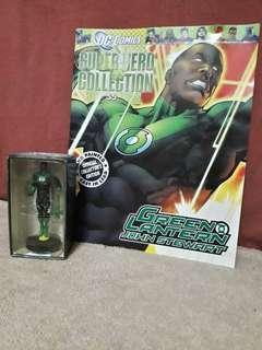 Eaglemoss Dc Comics Super Heroes Green Lantern John Stewart Figurine