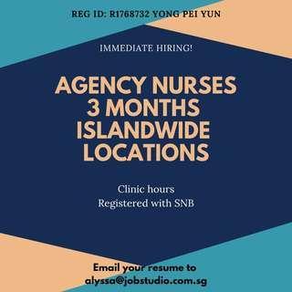 Agency Nurse