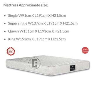 Viro Royal Comfort Pocketed Spring mattress
