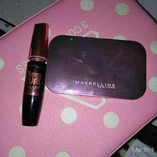 Maybelline bedak , mascara original