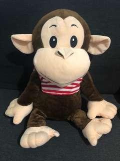 中型 馬騮公仔 𤠣子 Monkey doll