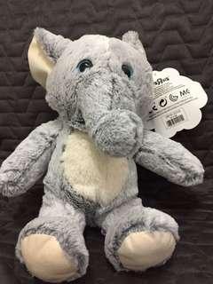 Cute elephant plush
