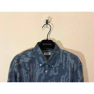 訂價12800 KENZO 仙人掌 題花 襯衫 不穿便宜出售