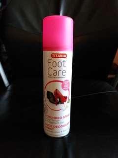 全新 除臭防菌鞋嘖霧 嘖鞋 德國 New Shoe deodorant spray prevents shoe & foot odour foot care (Made in Germany)