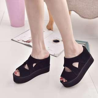 Wedges Shoes Korean Style