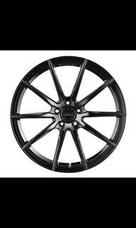 Vertini Rotary Flow Forged Rims