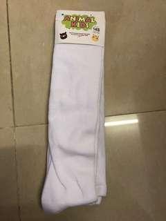 白色襪褲145cm