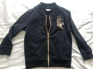 🚚 Bomber Jacket Tiger Patch