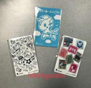 Tokidoki Ezlink Cards (3 pcs)