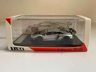 JEC LB works Lamborghini Aventador 銀色
