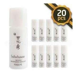#EST50 (100ML) SULWHASOO SNOWISE BRIGHTENING EMULSION 5ML X 20 PCS