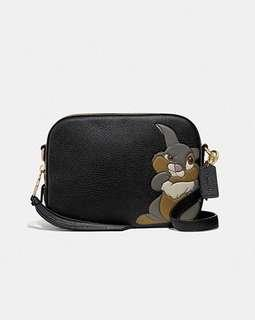 有單 美國代購 Coach Disney Bunny Leather Shoulder bag 單肩包 斜挎包 camera bag box bag 盒子包 相機包