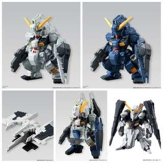 FW Gundam Converge No.111, 112, 113, 118, 131
