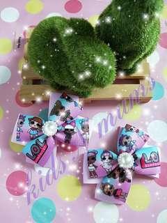 🚚 Handmade lol hair clips / hair ties