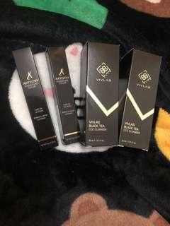 包郵 Vivas Black Tea CCC Cleanser / Lip Gloss