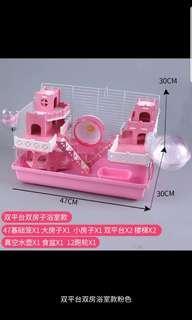 Hamster Castle Cage (PO)