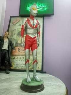 "Vintage &Super rare ultraman 19"" figures 80s"