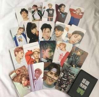 🚚 [sharing] nct spring fanparty photocards