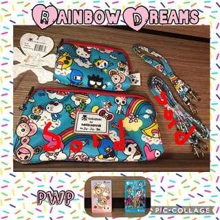 Preloved EEEUC Hello Kitty and Sanrio Rainbow Dream Be Set near or lower retail
