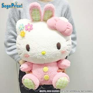 Japan Sanrio Giga Jumbo Rabbit Hello Kitty Plushy Toy - Toreba