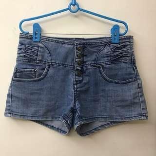 🚚 🔴牛仔短褲