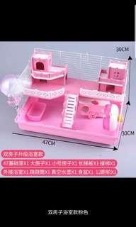 Hamster Castle Cage