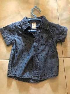 🚚 Authentic Osh Kosh Denim Shirt