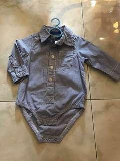 Osh Kosh Shirt Romper for boy Authentic