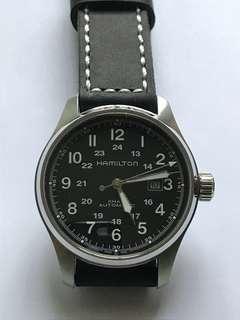 🚚 Khaki Field Watch 44mm - Hamilton
